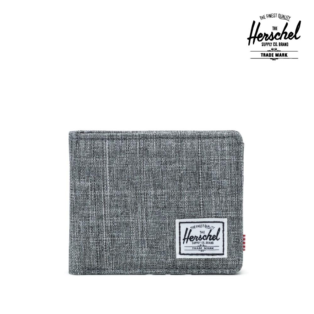 【Herschel】 Roy 短夾-灰色