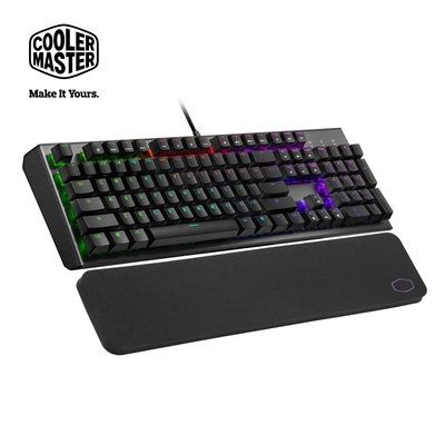 Cooler Master CK550 V2 機械式 RGB 電競鍵盤(青軸)