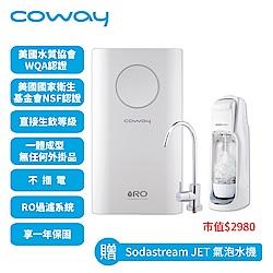 Coway一體成型櫥下式RO淨水器Circle  P-160