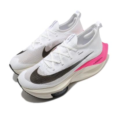 Nike 慢跑鞋 Zoom Alphafly Next% EK 男鞋 Eliud 著用款 破2紀錄 白 粉 DD8877100