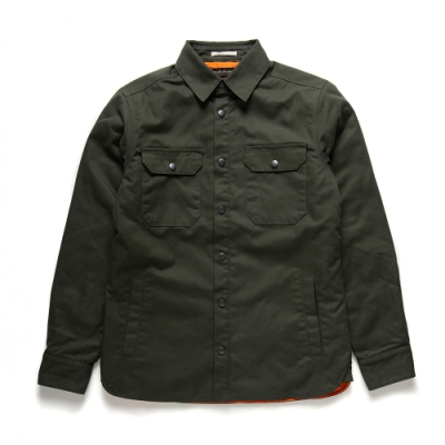 Deus Ex Machina  Maxwell Padded 襯衫外套 -(綠)