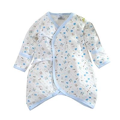 三層棉印花厚款護手蝴蝶衣 k60692 魔法Baby