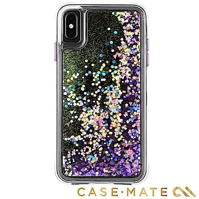 美國Case-Mate iPhone XS Max Waterfall 防摔保護殼-螢光紫