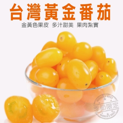 【天天果園】台灣黃金蕃茄3斤