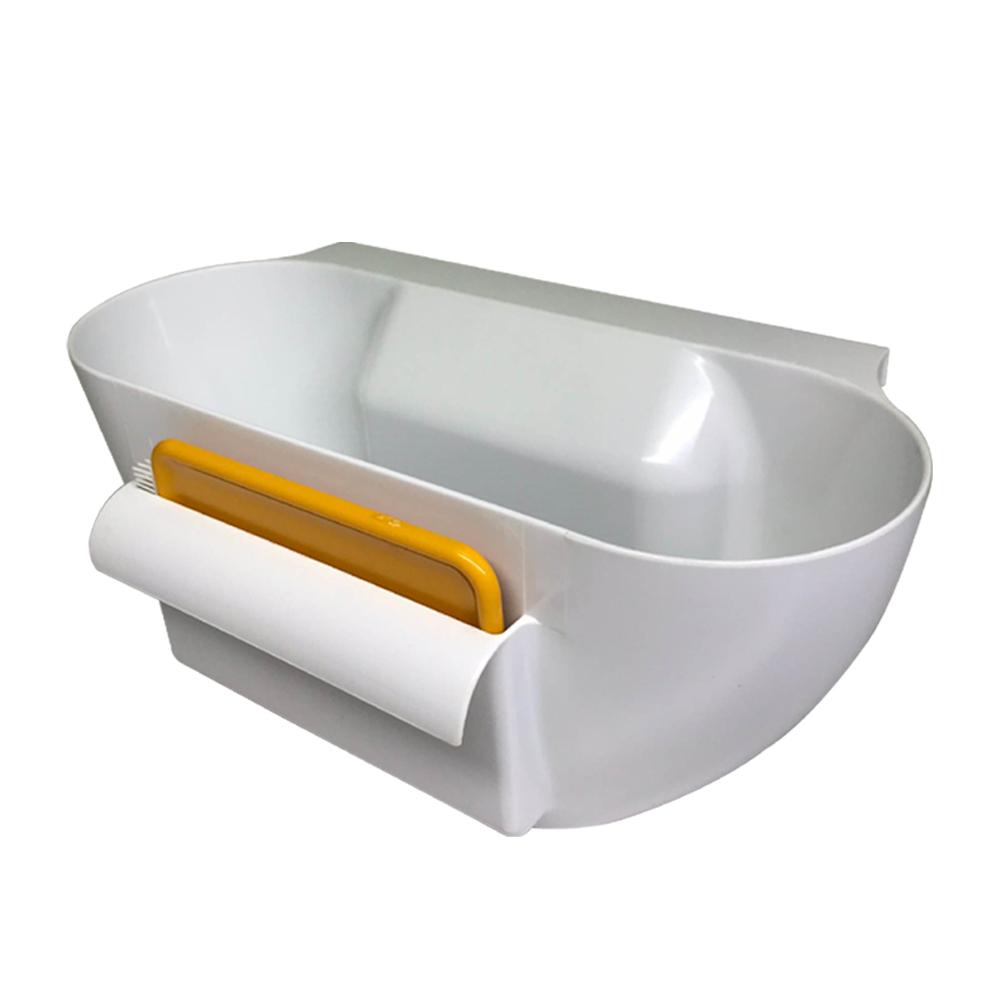 金德恩 台灣製造 免安裝崁入式流理台清潔籃(附兩用清潔推片) @ Y!購物