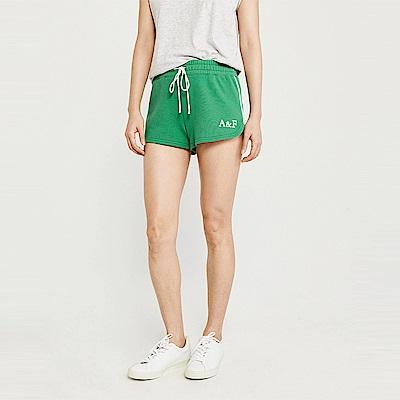 麋鹿 AF A&F 經典標誌設計短棉褲(女)-綠色