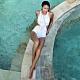 澳洲Sunseeker泳裝Pastel vistion系列連身挖腰高領三角泳衣1180045CHY product thumbnail 1