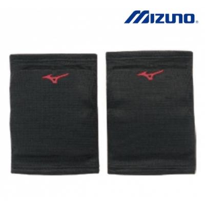 MIZUNO 美津濃  成人用膝蓋保護套 (雙)  黑X紅  V2TY800696