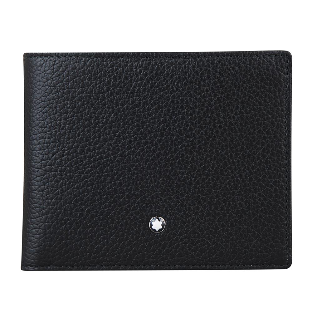 [時時樂限定]萬寶龍MONTBLANC 大班系列9卡對折短夾(黑)(專櫃價$11800)