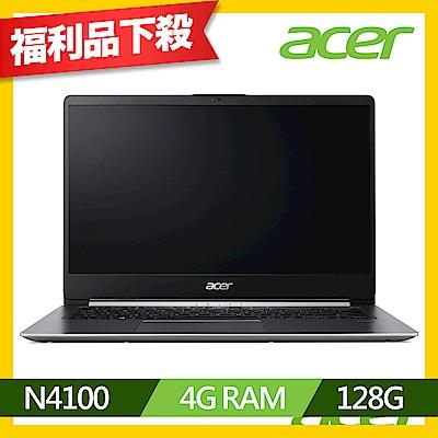 Acer SF114-32-C5VB 14吋筆電(N4100/4G/128G SSD/福利品