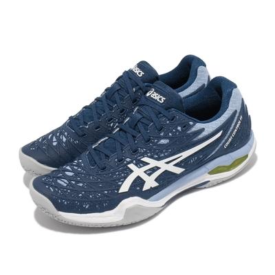 Asics 排羽球鞋 Court Control FF 女鞋 亞瑟士 緩震 高抓地力 專業運動 藍 白 1072A019401