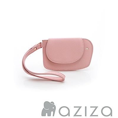 AZIZA 小象手拎零錢包-粉