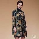 GLORY21莫蘭迪刺繡外套_欖綠色