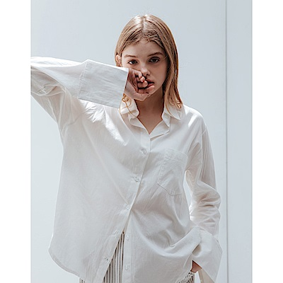 Shester55-舒適棉質襯衫(兩色)-女【TSH176】