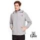 【Lynx Golf】男款防潑水胸袋設計小山貓LXG系列長袖外套-灰色 product thumbnail 2