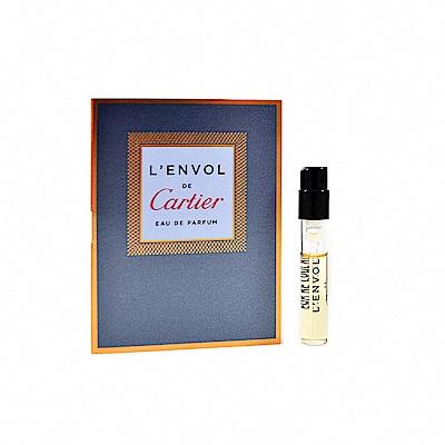 Cartier 卡地亞 LEnvol de Cartier 男士淡香精 針管小香1.5ml