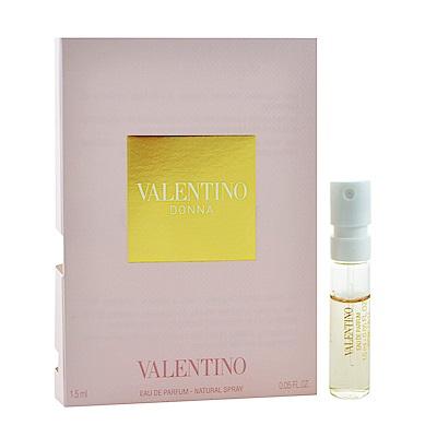 VALENTINO 范倫鐵諾 Donna 女性淡香精 針管小香 1.5ml