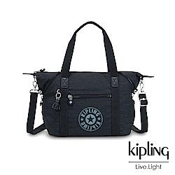 Kipling 致敬經典復古夜空深藍手提側背包-ART NC