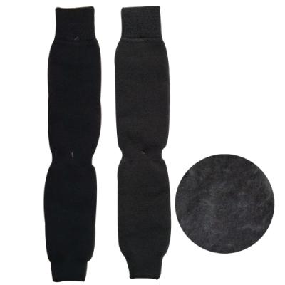 本之豐 裏起毛膝上/膝下兩用保暖禦寒素色襪套~6雙