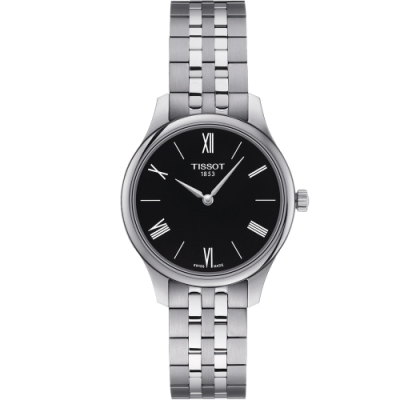 TISSOT T-TRADITION 蟬翼超薄女錶(T0632091105800)/31mm