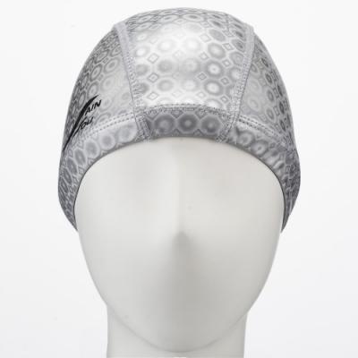 聖手牌 泳帽 灰色合成泳帽