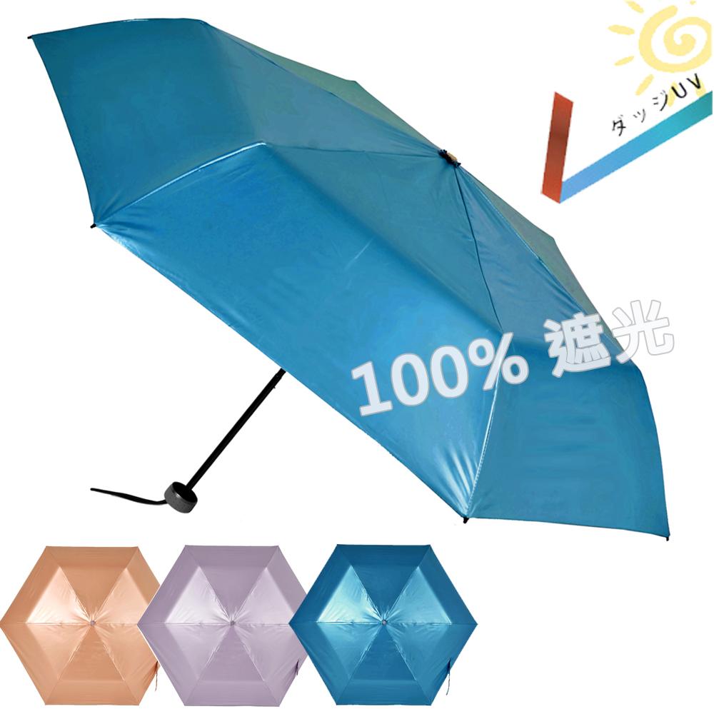 [團購2入組] 2mm 第二代 100%遮光降溫 超輕量折傘