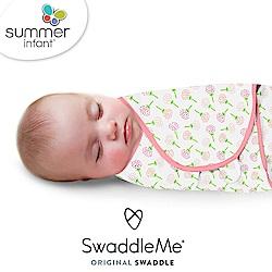 美國 Summer Infant - 聰明懶人育兒包巾 純棉 S- 粉漫花朵