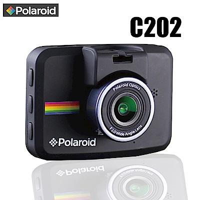 【Polaroid 寶麗萊】C202 FullHD1080p 高畫質行車紀錄器(贈16G)