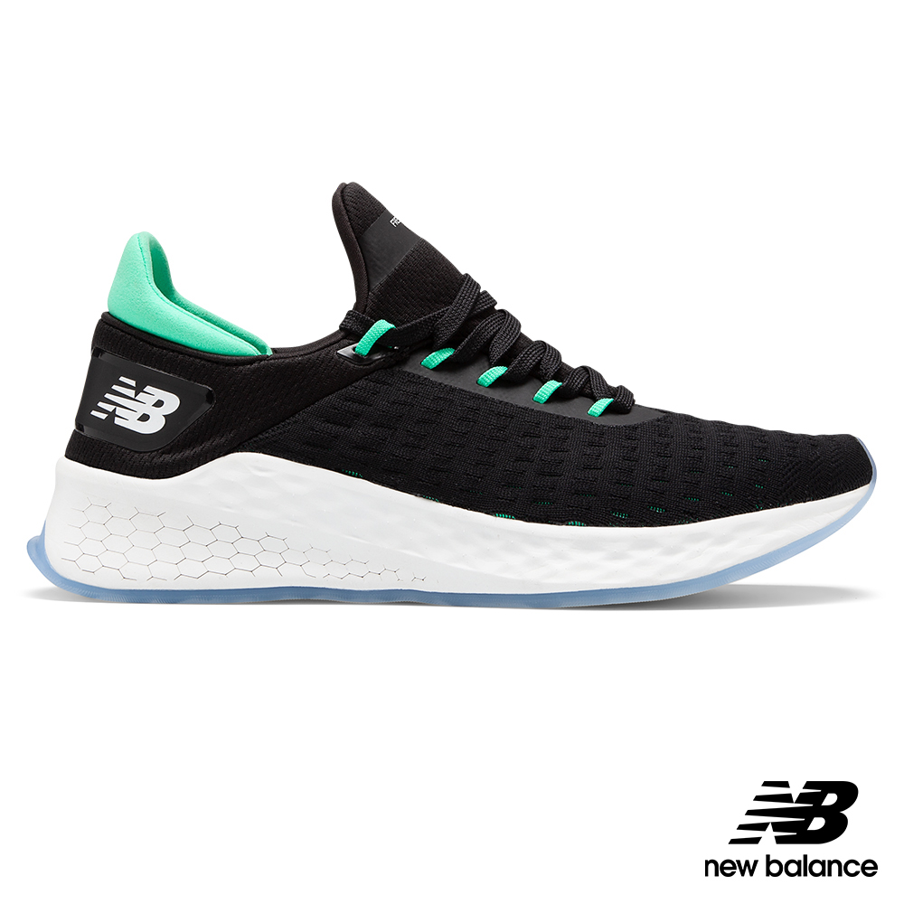 【New Balance】輕量跑鞋MLZHKLB2男 黑2E