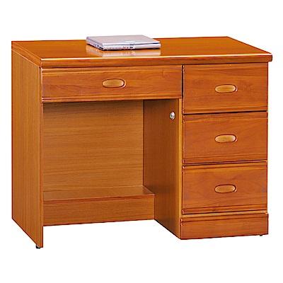 AS-傑夫柚木3.5尺書桌-104x59x76cm