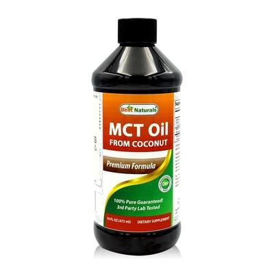 美國【Best Naturals】中鏈MCT油 (C8,C10)1瓶 (473ml/瓶)