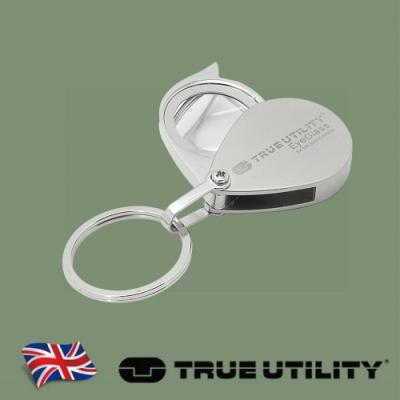 【TRUE UTILITY】英國多功能隨身放大鏡鑰匙圈EyeGlass