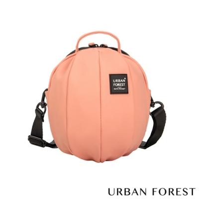 URBAN FOREST都市之森 甲蟲-Skin Touch膚感系列迷你斜背包/斜肩包 鐵鏽粉