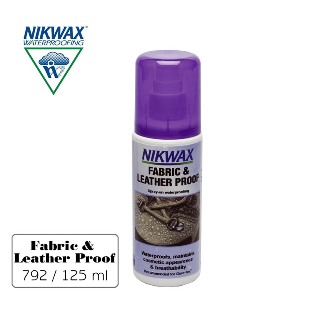 【NIKWAX】噴式皮革及布料撥水劑 792【125ml】