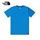 The North Face北面男款藍色吸濕排汗短袖T恤|4NCRW8G product thumbnail 1