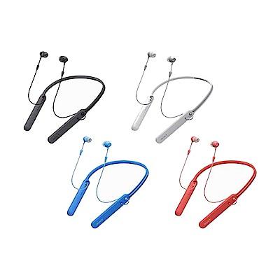 [福利品]SONY無線藍牙頸掛入耳式耳麥WI-C400散裝出清