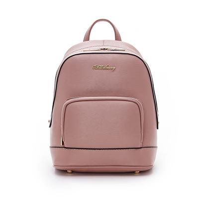 B.S.D.S冰山袋鼠-知性巴黎x簡約時尚通勤後背包-香芋紫
