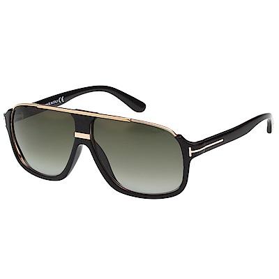 TOMFORD 中性 太陽眼鏡(黑色)TF335