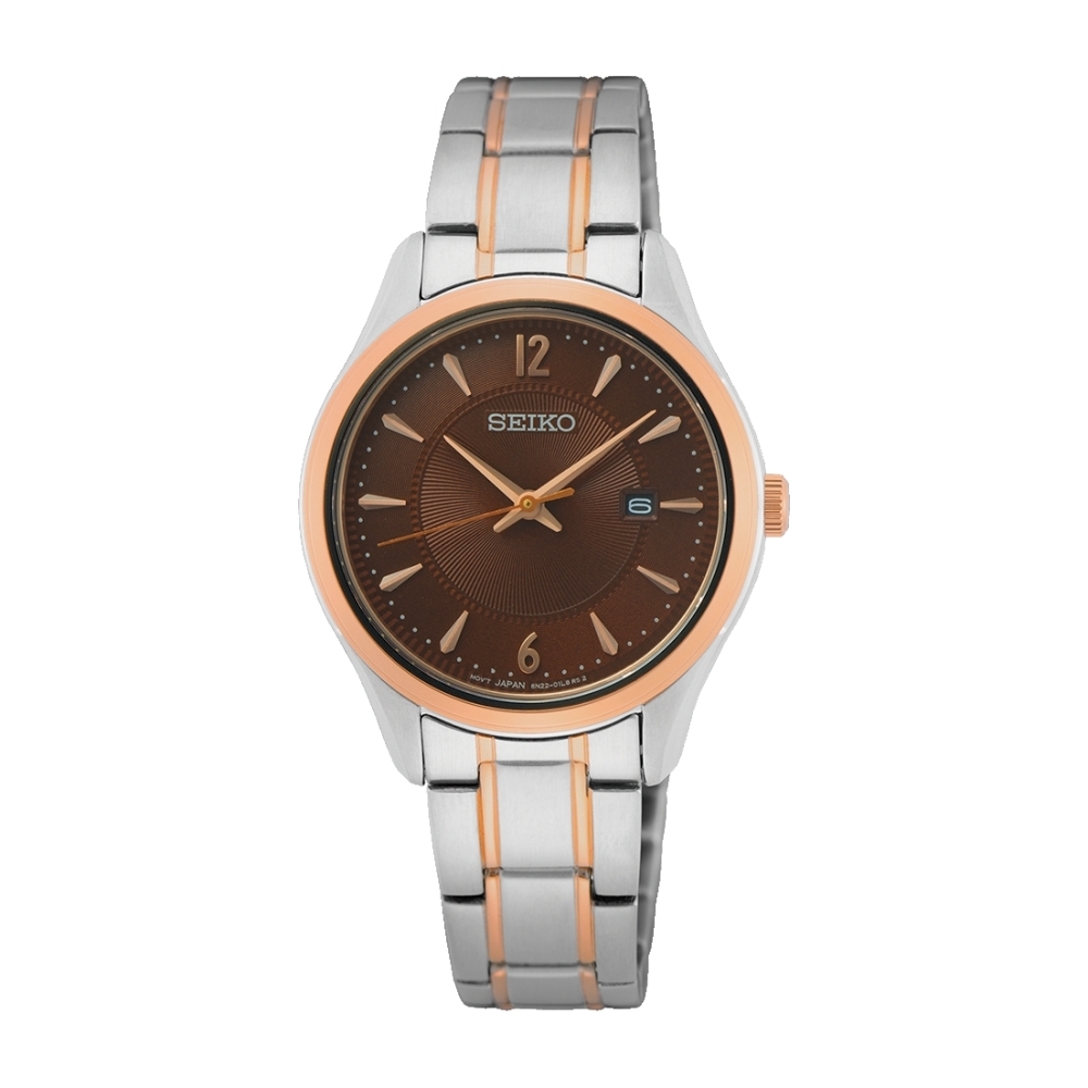 SEIKO 優雅經典時尚腕錶6N22-00N0B(SUR476P1)