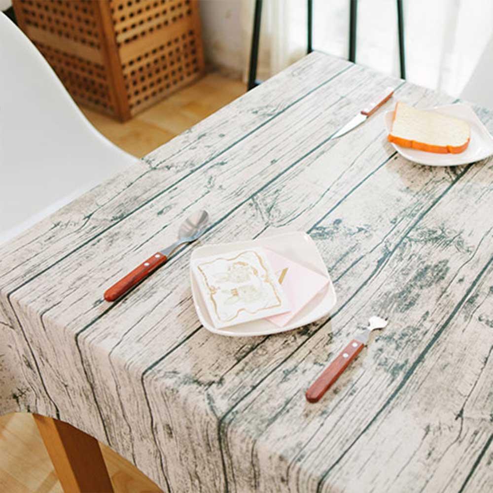 北歐元素 仿木紋質感桌布/蓋布/背景布