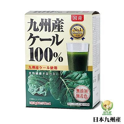 日本九州產 100%羽衣甘藍菜青汁(44入組)