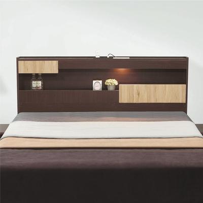 綠活居 瓦利 現代5尺雙人床頭片(三色可選+不含床底+不含床墊)-151.5x12x101cm免組