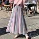 【白鵝buyer】夢幻 雙色層次多層次紗裙(粉紫) product thumbnail 1