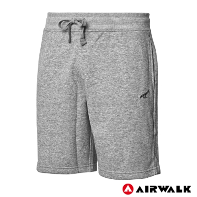 【AIRWALK】男款五分棉短褲-共三色