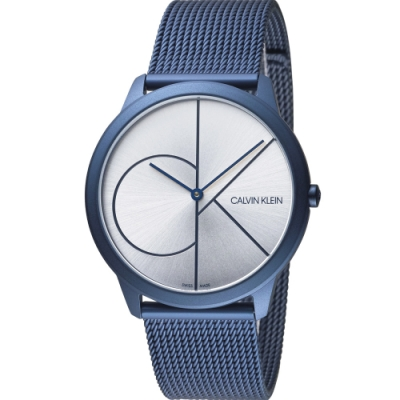Calvin Klein minimal 大ck簡約時尚腕錶(K3M51T56)40mm