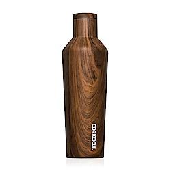 CORKCICLE 酷仕客Wood系列三層真空易口保溫瓶470ml(胡桃木)