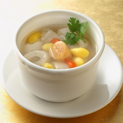 【餡老滿】台北排隊名店-竹笙干貝湯(300g±10%/包) x10包