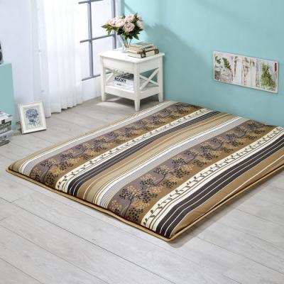 戀香 3X6尺單人竹香冬夏兩用折疊棉床墊(加厚6.5CM) 床 床墊 日式床墊