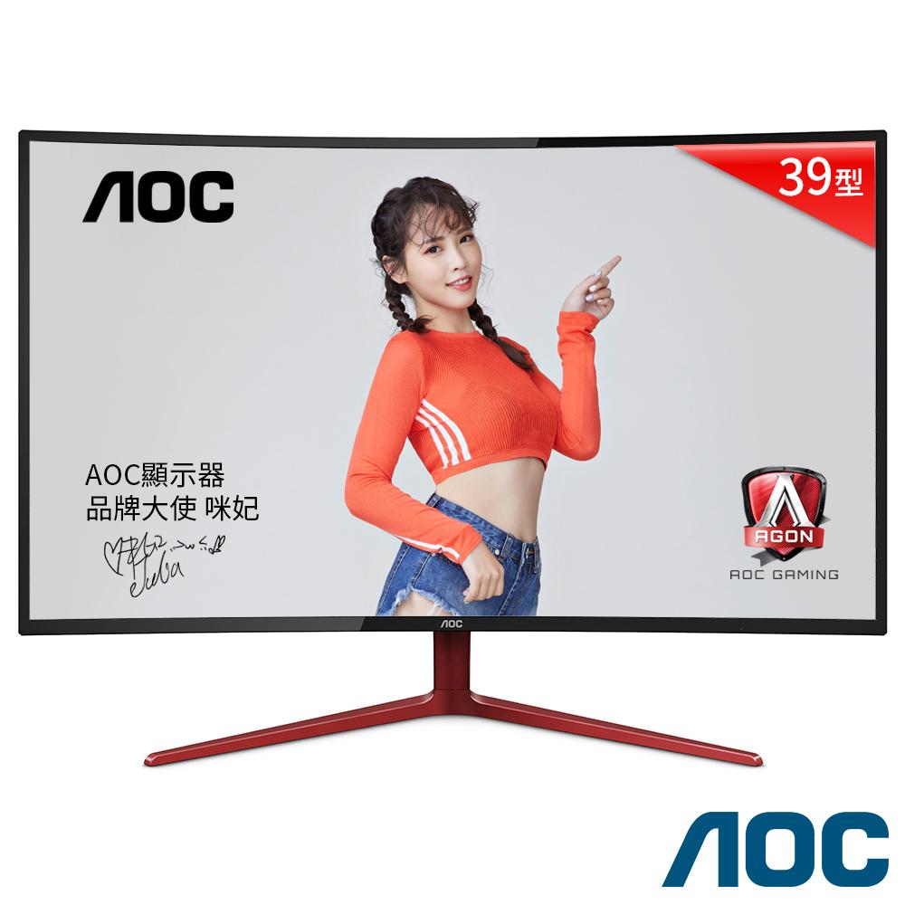 AOC G3908VWXA 38.5吋(寬) 曲面液晶顯示器