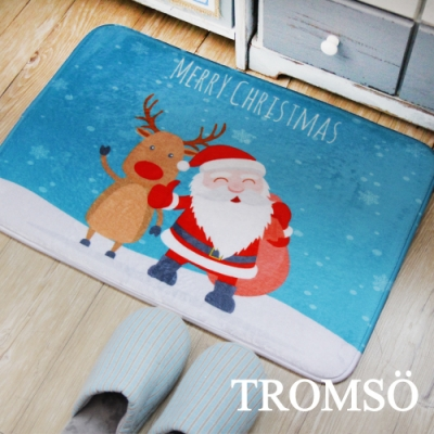TROMSO簡單生活超柔軟地墊-M107聖誕歡喜